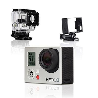 GoPro Full HD Hero3 Bundle: Silver Edition