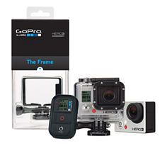 GoPro Full HD Hero3 Bundle: Black Edition