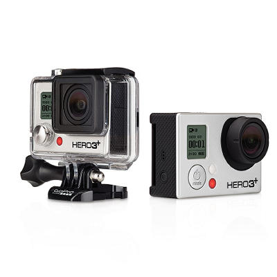 GoPro Full HD Hero3+ Bundle: Black Edition