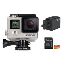 GoPro HERO4 Silver Essential Bundle