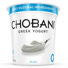 Chobani Plain Greek Yogurt (38 oz.)