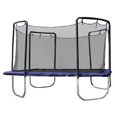 Skywalker Trampolines 15' Sq Trampoline and Enclosure - Blue