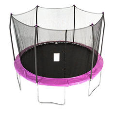 Skywalker Trampolines 12' Round Trampoline and Enclosure - Purple