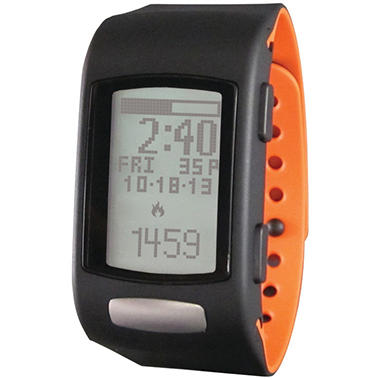 LIFETRAK C200 Core Watch - LTK7C2001  (Black Face; Tangerine Band)
