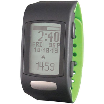 LIFETRAK C300 Move Watch - LTK7C3001  (Black Face; Green Band)