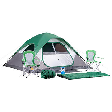 Denali 7-Piece Camping Set with 11' x 9' Tent
