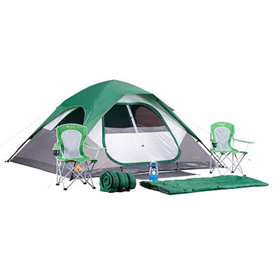 Denali 7-Piece Camping Set with 11' x 9' Tent  - Original Price $149.98, Save $10