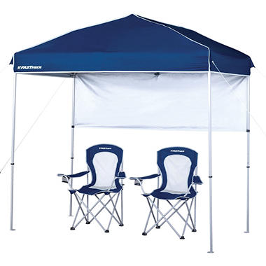 Fastraxx Sideliner Canopy Combo 4' x 8' - Original Price $99.98, Save $10