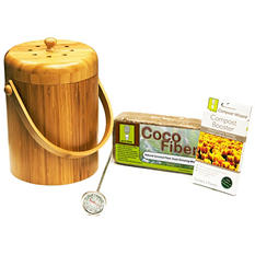 Compost Wizard Essentials Kit, Bamboo