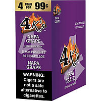 4Kings Napa Grape, Prepriced 4 for $0.99 (60 ct.)