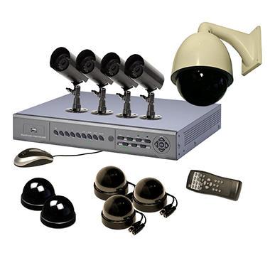 Piczel 7108 8-Channel Internet DVR Kit with 8 Cameras