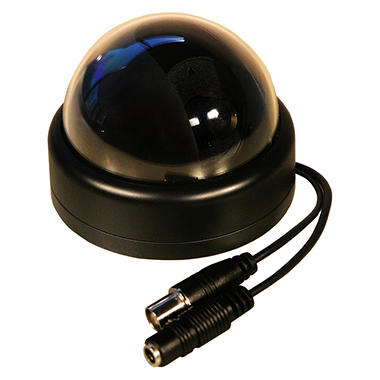 Piczel Model 141 Tamper-Proof 540 line CCD Indoor Color Dome Camera with 3 Axis View Adjustment