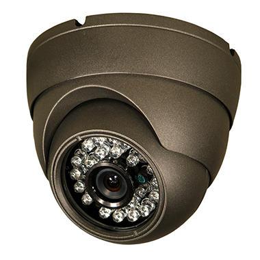 Piczel Model 1054 Tamper Proof Indoor/Outdoor IR CCD Turret Dome