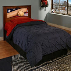 LightHeaded Beds Montgomery Twin Headboard with Changeable back-lit LED Headboard Imagery (Various Colors)