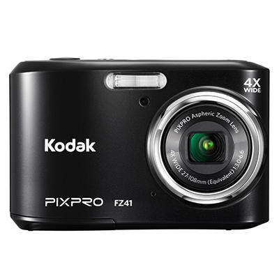 KODAK Friendly Zoom FZ41 16MP Digital Camera with 4x Optical Zoom - Various Colors