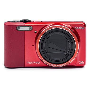 *$99.88 after $50 Tech Savings* Kodak PIXPRO Friendly Zoom FZ151 16MP Digital Camera with 15x Optical Zoom - Various Colors