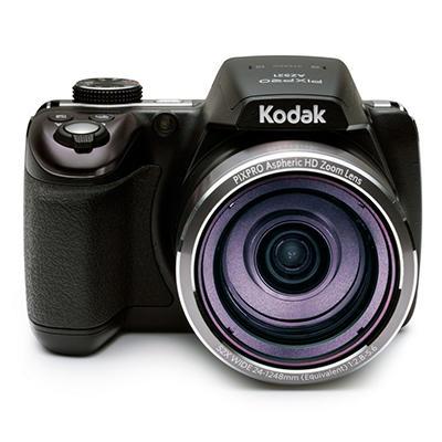 KODAK PIXPRO Astro Zoom AZ521 16MP CMOS Digital Camera with 52x Optical Zoom - Black