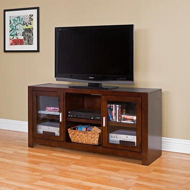 Ruben Full-Size TV Console - Bourbon