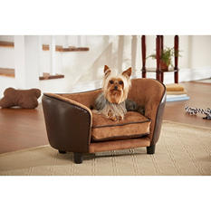 Enchanted Home Pet Snuggle Bed, Pebble Brown
