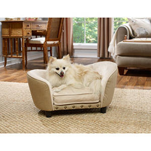 Enchanted Home Pet Snuggle Bed, St. Croix Burlap
