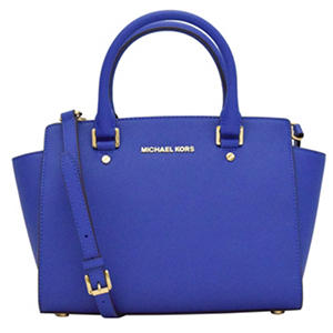 Hamilton Saffiano Leather Satchel Handbag by Michael Kors