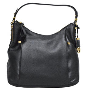 Ava Saffiano Leather Satchel Handbag by Michael Kors