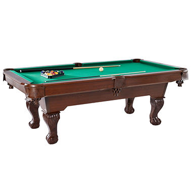 Ball and claw 7 5 ft billiard table sam 39 s club for 10 foot pool table