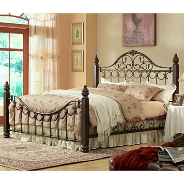 Sutton Metal Bed - King