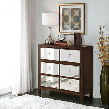 Dellone Mirrored Accent Cabinet