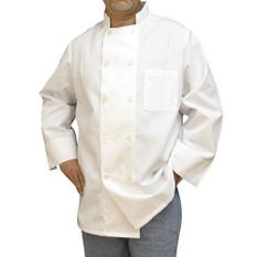 Professional 10-Button Chef Coat