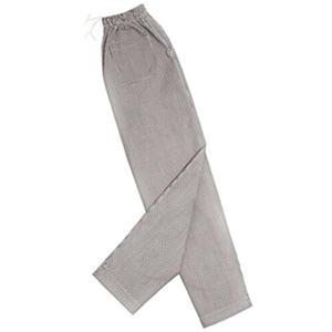 Professional Black & White Check Chef Pants