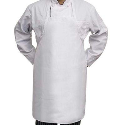 Professional Chef's Bib Apron - White - 6 pk.