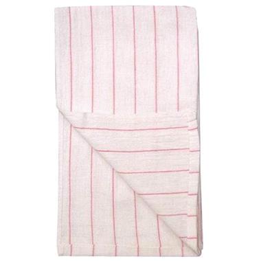 Restaurant Towels - White/Red Stripe - 12 pk.