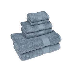 Organic 6-Piece Bath Set  (Various Colors)
