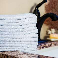 Hotel Wash Cloth, White (300 ct.)