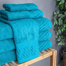 Hudson Loft 14-Piece Cotton Towel Set (Assorted Colors)