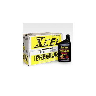 Xcel Premium Sae30 Motor Oil 1 Quart Bottles 12 Pack