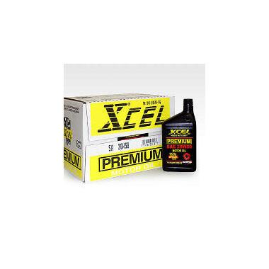 Xcel Premium SAE 20W50 Motor Oil - 1 Quart Bottles - 12 pack