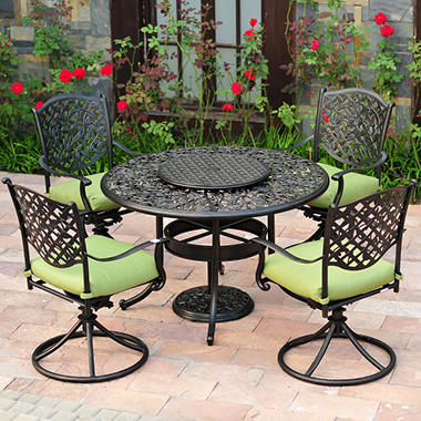 Vineyard Outdoor Dining Set 7 Pc Sam 39 S Club