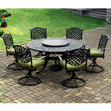 High top kitchen table sets - Vineyard Outdoor Dining Set 9 Pc Sam S Club