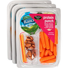Taylor Farms Protein Punch Almonds, Cheese, Carrots, Broccoli (6.5 oz., 3 pk.)
