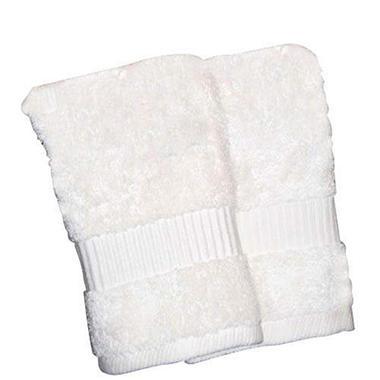 100% Cotton Washcloth - Ivory/2pk
