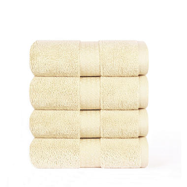 "100% Cotton Super Soft Highly Absorbent Luxurious Hand Towel - 16"" x 30"" - Linen"
