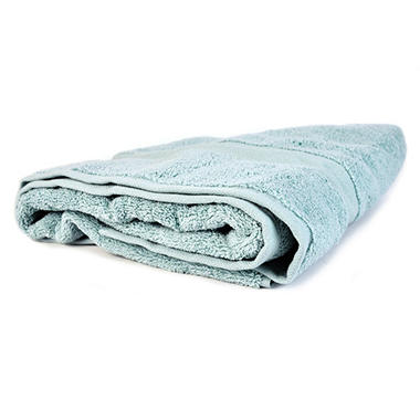 "100% Cotton Super Soft Highly Absorbent Luxurious Bath Towel - 30"" x 58"" - Glacier"