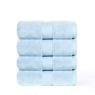 "100% Cotton Super Soft Highly Absorbent Luxurious Hand Towel - 16"" x 30"" - Glacier"