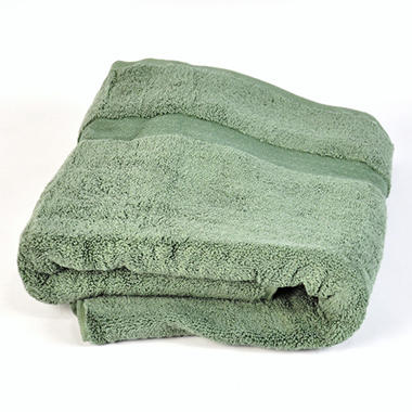 "100% Cotton Super Soft Highly Absorbent Luxurious Bath Towel - 30"" x 58"" - Fern"