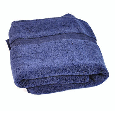 100% Cotton Bath Towel - Navy