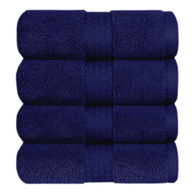 100% Cotton Hand Towel - Navy