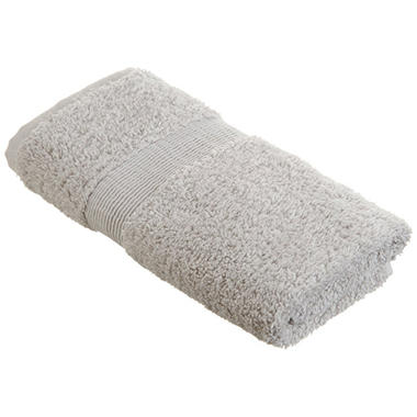 100% Cotton Hand Towel - Grey