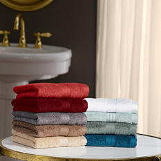 "100% Cotton Luxury 2 Pack Washcloth 13"" x 13"" (Assorted Colors)"